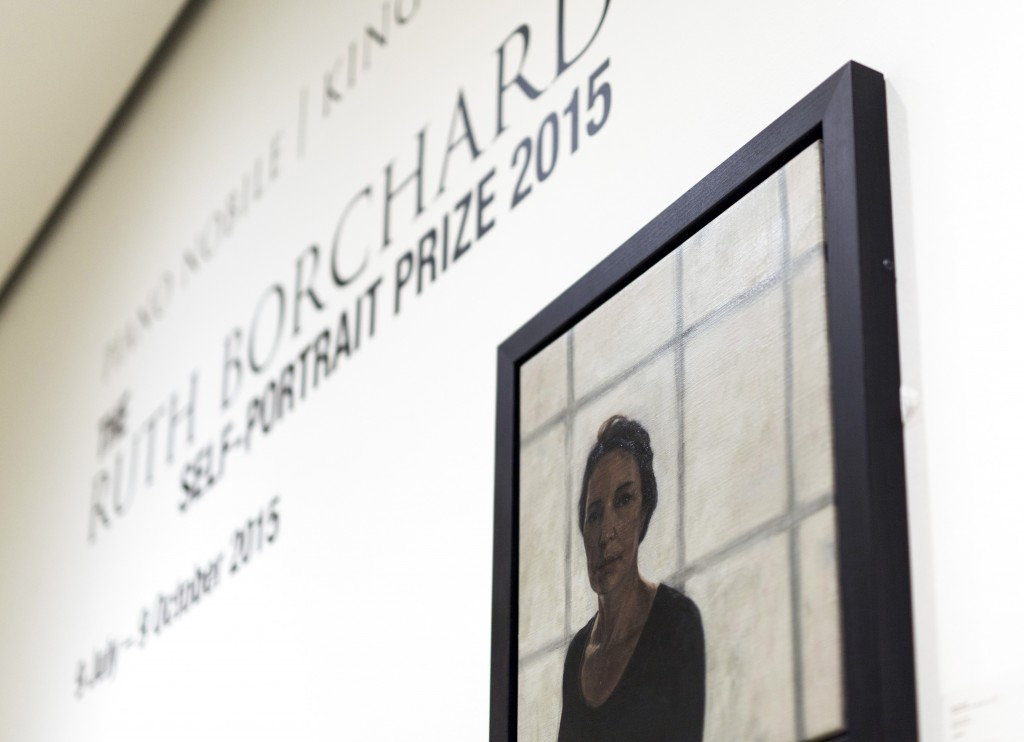 The Ruth Borchard Self Portrait Prize 2015. London, July 2015